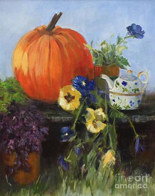 The Great Pumpkin Art Print by Sandy Lane
