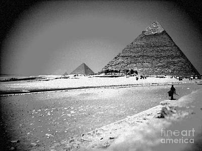 Egypt Photograph - The Great Pyramids by Kayne  Johnson