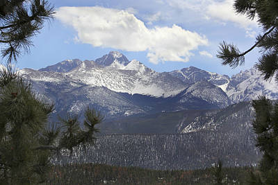 Snow Capped Mountains Wall Art - Photograph - The Rocky Mountains - Colorado by Mike McGlothlen