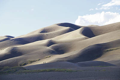 Photograph - The Great Sand Dunes National Park 5 by Allen Beatty