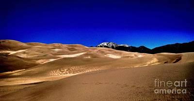 Photograph - The Great Sand Dunes1 by Claudette Bujold-Poirier