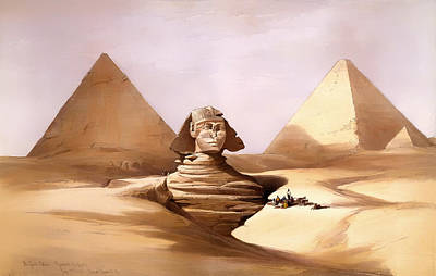 The Great Sphinx Art Print by Mountain Dreams