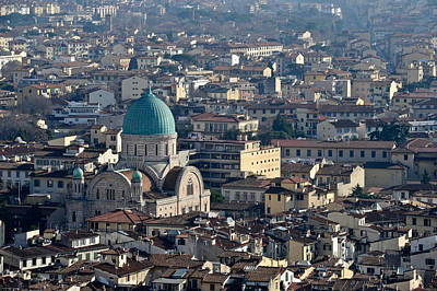 Photograph - The Great Synagogue Of Florence by Gary Eason