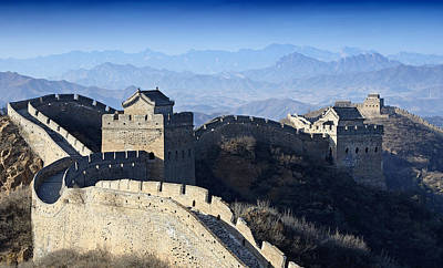 Watch Tower Photograph - The Great Wall - China by Brendan Reals