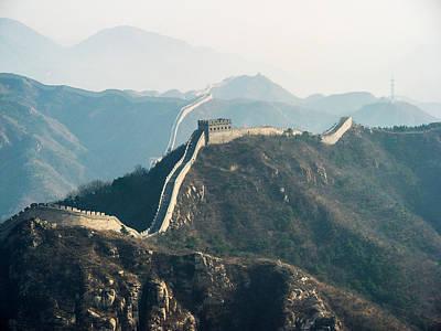 China Photograph - The Great Wall by David Mortenson