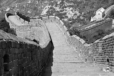 Maravilla Photograph - The Great Wall Of China by Angel Sosa