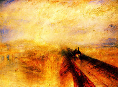 Western Wall Painting - The Great Western Railway by Celestial Images