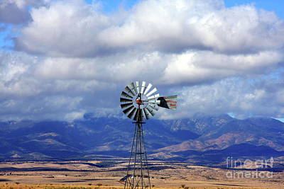 Photograph - The Great Western Windmill by Andrew Romer