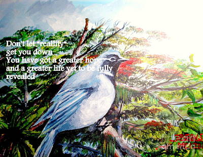 Mangrove Forest Painting - The Greater Hope And Life by Jason Sentuf