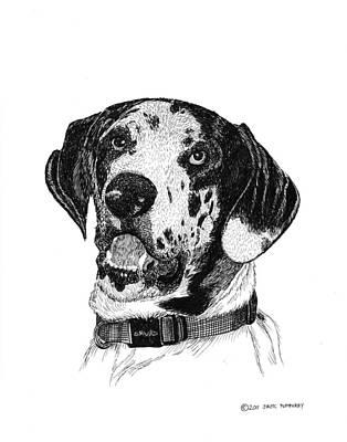 The Greatest Dane Art Print by Jack Pumphrey