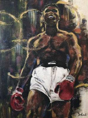 Painting - The Greatest by Gregory DeGroat