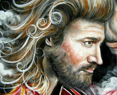 The Greatest Man In The World Art Print by Patrice Torrillo
