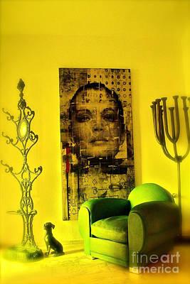 The Green Chair Art Print by Taylor Steffen SCOTT