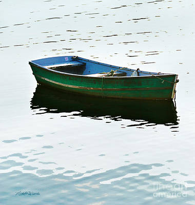 Photograph - The Green Dinghy by Michelle Constantine