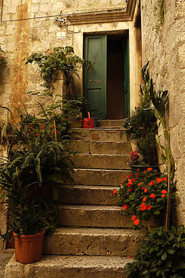 Photograph - The Green Door by John Jacquemain