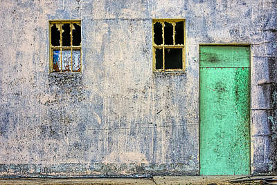 Photograph - The Green Door by Lewis Mann