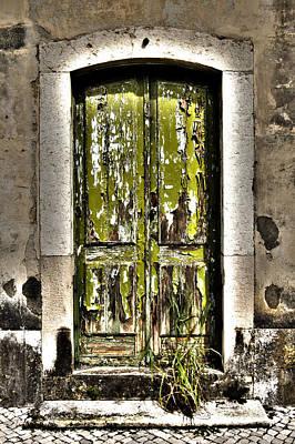 The Green Door Art Print by Marco Oliveira
