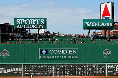 Sports Photograph - The Green Monster 99 by Tom Prendergast