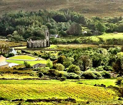 Art Print featuring the photograph The Green Valley Of Poisoned Glen by Charlie and Norma Brock
