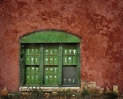Photograph - The Green Window by David and Carol Kelly