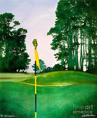 The Greenspeeper... Art Print by Will Bullas