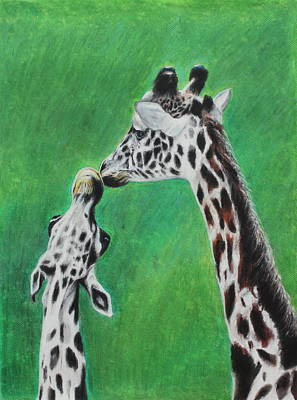 Painting - The Greeting by Jeanne Fischer
