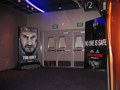 Popular Rustic Neutral Tones - The Grey No One Is Safe  posters Harkins Theaters Casa Grande Arizona 2012 by David Lee Guss