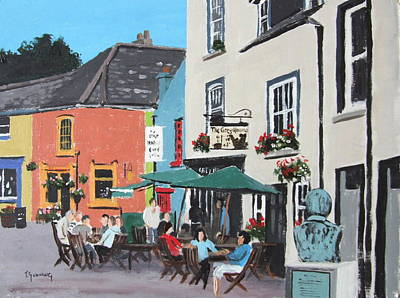 The Greyhound Bar Kinsale Art Print