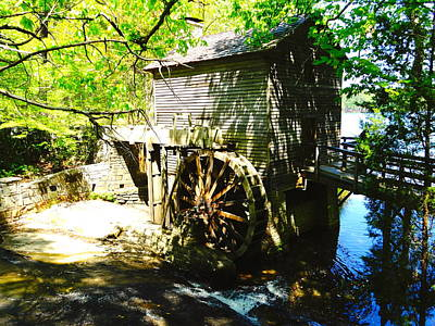 Photograph - The Grist Mill by Alan Lakin