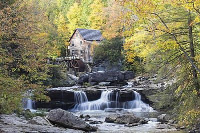 The Grist Mill Art Print by Amber Kresge