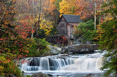 Photograph - The Grist Mill by Chuck Robinson
