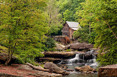 The Grist Mill Art Print by Steve Harrington