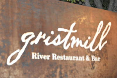The Gristmill River Restaurant And Bar Art Print