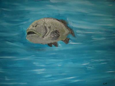 The Grouper Art Print