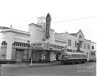 Photograph - The Grove Theatre Was At The Corner Of Lighthouse Avenue And 17th Street by California Views Archives Mr Pat Hathaway Archives