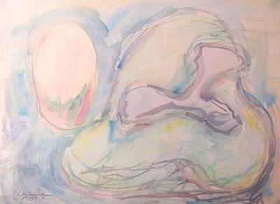 Painting - The Growth Of An Egg by Esther Newman-Cohen