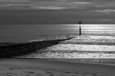 Photograph - The Groyne by Chris Day