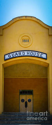 Angel Island State Park Photograph - The Guard House by Mitch Shindelbower
