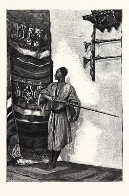 The Guard Of The Harem Art Print