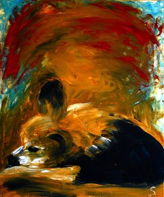 Painting - The Guardian by Dorothy Berry-Lound