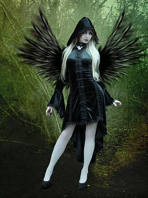 Seraphim Angel Photograph - The Guardian by Ester  Rogers