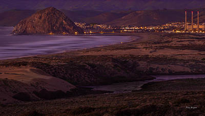 Photograph - The Guardian--- Morro Bay by Tim Bryan