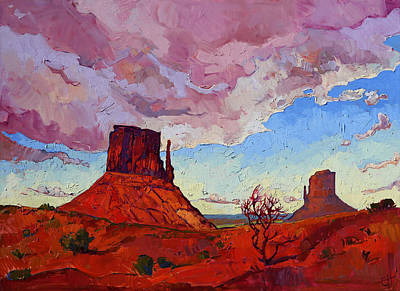 Painting - The Guardians by Erin Hanson