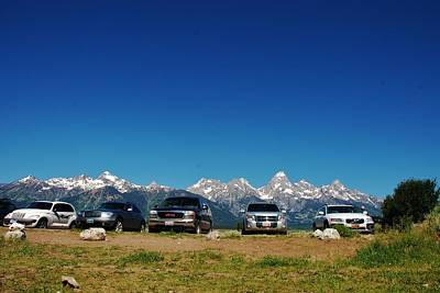 Photograph - The Guardians Of Grand Teton by Dany Lison