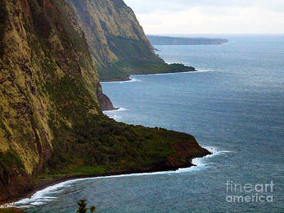 Photograph - The Guardians Of Waipio Valley by Patricia Griffin Brett
