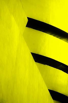 Photograph - The Guggenheim Color Collection In White Yellow by Rob Hans