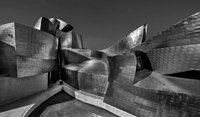 Titanium White Photograph - The Guggenheim Museum Bilbao  by Ayhan Altun