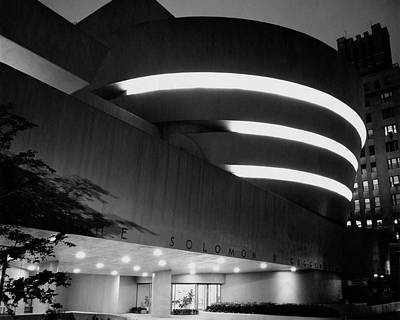 Photograph - The Guggenheim Museum In New York City by Eveyln Hofer
