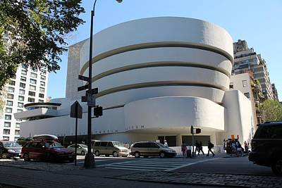Photograph - The Guggenheim Museum - New York by David Grant