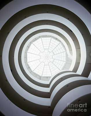 Photograph - The Guggenheim Museum by Rafael Macia